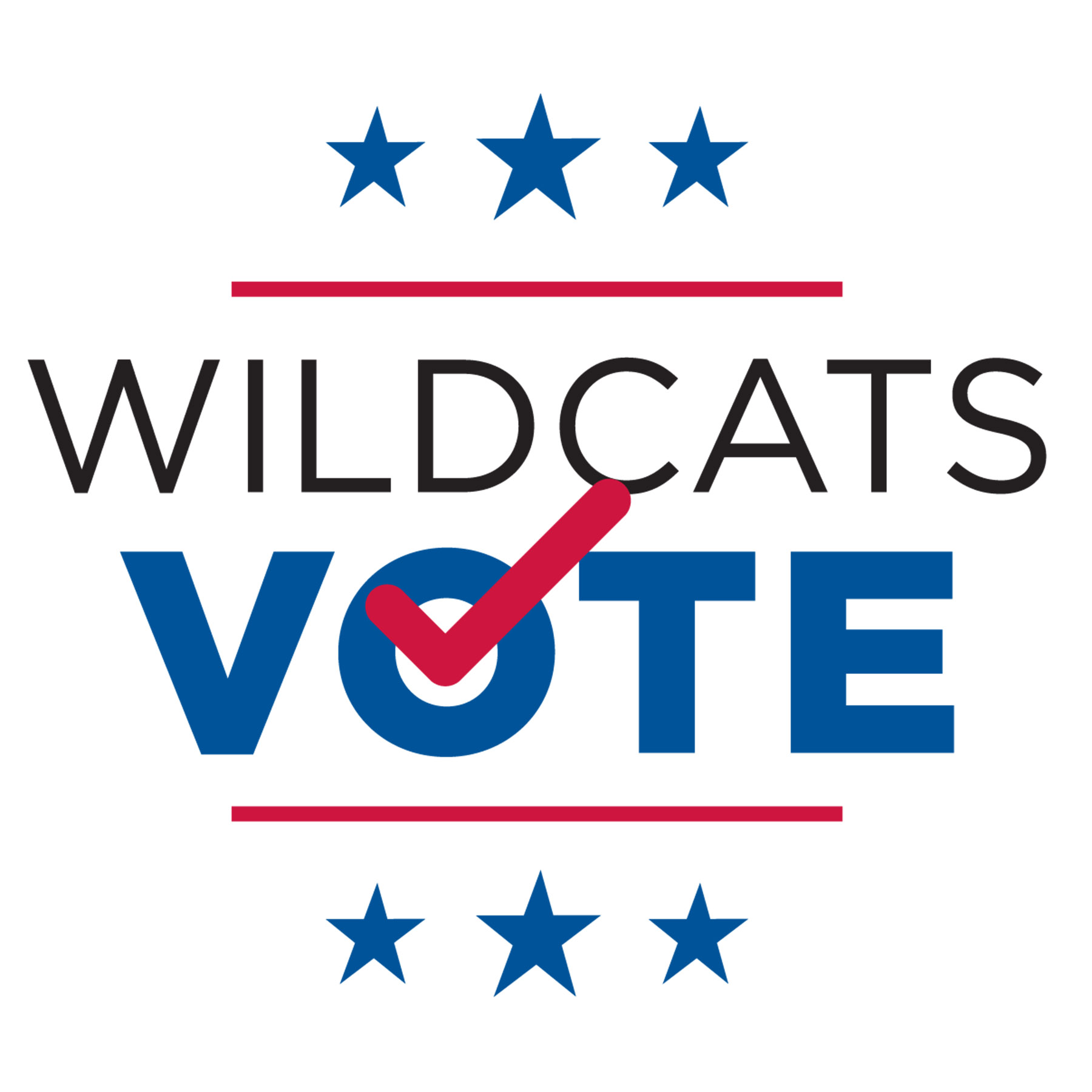 Wildcats Vote Logo