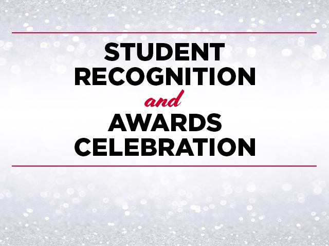 Student Recognition Ceremony