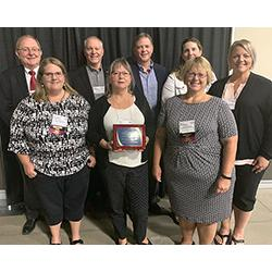 NDSCS Employees with the CTE Director's Award
